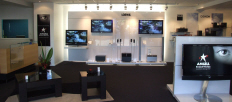 LOEWE - ANGELL Sound Vision showroom